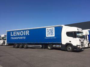 LENOIR Transports scania gaz gnl